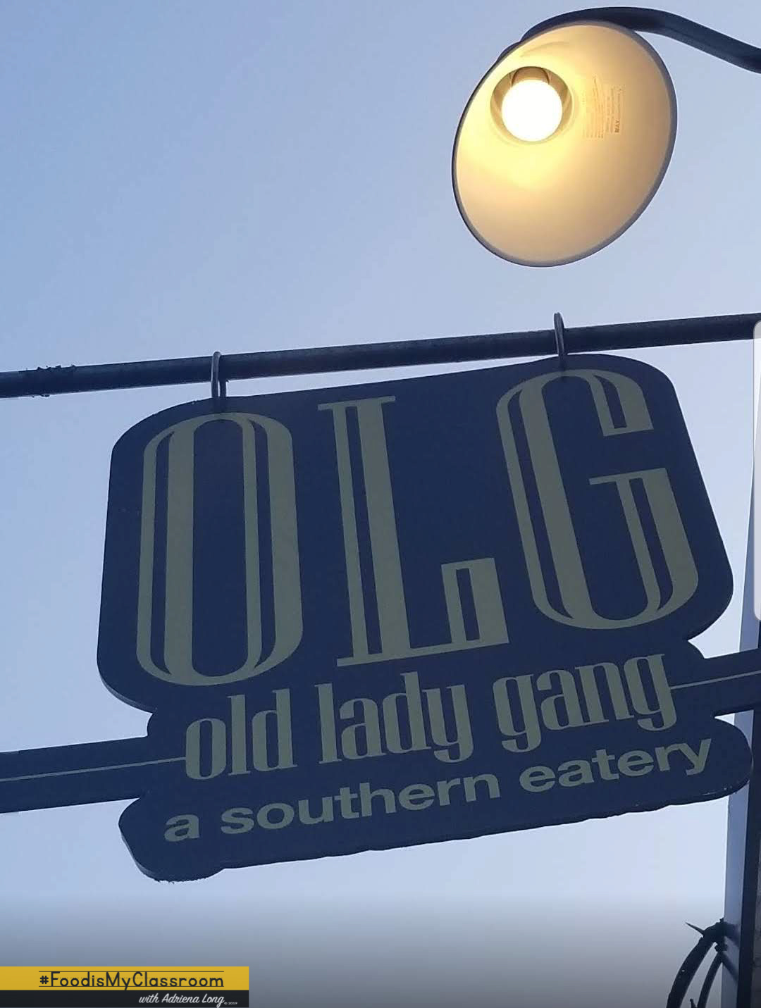 Old Lady Gang (OLG) Restaurant Review