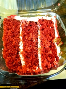 Red Velvet Cake at Busy Bee Cafe Atlanta