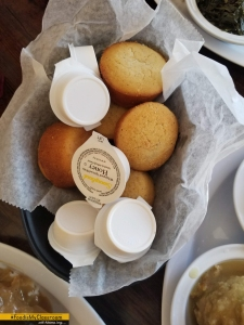 Busy Bee Cafe Atlanta, bread basket and butter